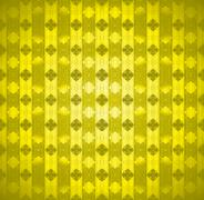 Seamless pattern golden stars - stock illustration