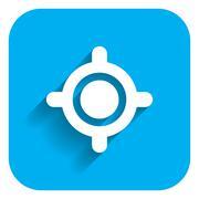 Sight icon Stock Illustration