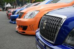 VIP car in VIP style mag. meeting no.1 Stock Photos