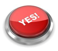 Push Button - Yes Stock Illustration