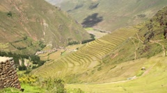 Sacred Valley of the Incas - stock footage