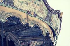 Old carousel Stock Photos