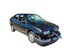 Car wreck Stock Photos