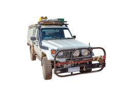 Toyota Landcruiser 4x4 - stock photo