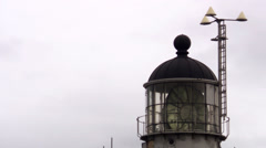 A lighthouse, Skane, Sweden. Stock Footage