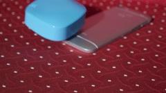 Modern Technologies - Phones, Tablet, Cables, Earphones, Power Bank Stock Footage