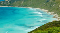 Beautiful Bay Near Esperance, Western Australia Stock Footage