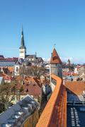 Tallin Walls - stock photo