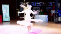 Belly Lady Festival by Daria Danilkina in Kiev, Ukraine. Stock Footage