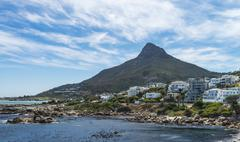 Camps Bay (Cape Town, South Africa) - stock photo
