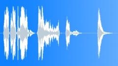 Orc male cough gas death Sound Effect