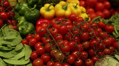 Vegetables, Sweden. Stock Footage