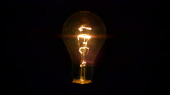 Light bulb being destroyed. Arkistovideo
