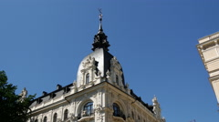 Belgium Consulate building in Albert Street in Riga Stock Footage