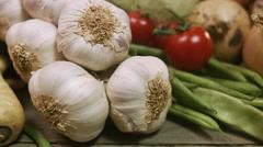Fresh vegetables, Sweden. Stock Footage