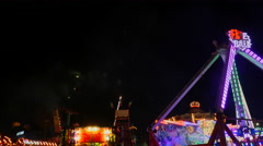 Fireworks Display Celebration Stock Footage