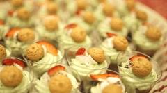 Tasty cakes SLIDER Stock Footage