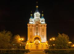 Grado-Khabarovsk Assumption Cathedral - stock photo