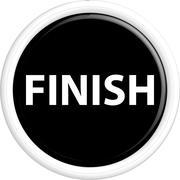 Button finish Stock Illustration