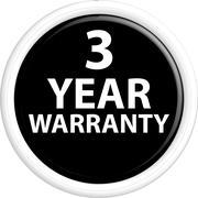 Button warranty - stock illustration