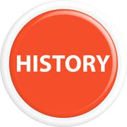 Button history - stock illustration