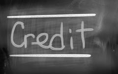 Stock Photo of Credit Concept