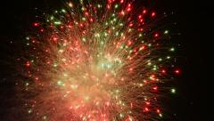Fireworks Grand Finale - stock footage