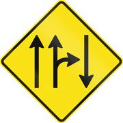 Opposing Traffic With Right Turn In Australia - stock illustration