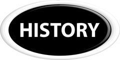 Button history - stock illustration