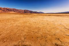 Harsh Death Valley Landscape. Stock Photos