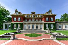 Old Westbury Gardens Mansion - Long Island - stock photo
