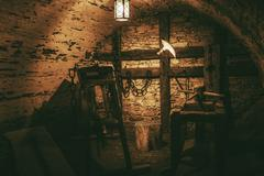 Torture Chamber in Niedzica Castle Stock Photos