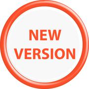 Stock Illustration of Button new version
