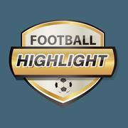 Gold Armed Logo Football 01 Stock Illustration