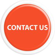 Button contact us - stock illustration