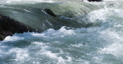 Streams of a Mountain River 4K Stock Footage