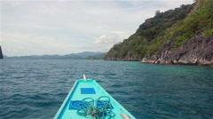 Stock Video Footage of Bacuit Archipelago around El Nido