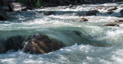 Clean Mountain River 4K Stock Footage