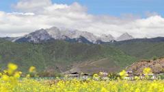Shangrila outskirt, Yunnan China Stock Footage