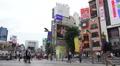 Busy City Streets Of Shinjuku Tokyo Footage