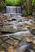 Secluded Ohio Waterfall Kuvituskuvat