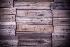 Texture and background of old  log wall - stock photo