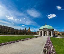 Pavilion in Hofgarten. Munich, Bavaria, Germany Stock Photos