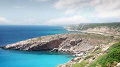Seascape , Bozcaada - Turkey - stock footage