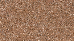 Small stone colored crumbs Stock Footage
