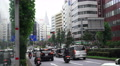 Car Traffic On Busy City Streets In Shinjuku Tokyo Footage