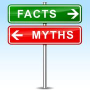 Facts sign Stock Illustration