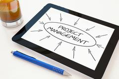 Stock Illustration of Project Management
