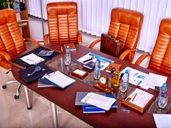Business interior  in office Stock Photos