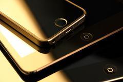 Apple devices Stock Photos